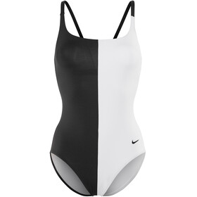 Nike Swim Color Surge V-Back One Piece Women black